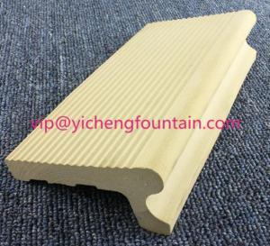 Buy cheap Full Body Ceramic Swimming Pool Equipment Border Tiles / Edge Tiles / Overflow Tiles product