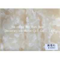 Buy cheap Marble Look Vinyl Marble Adhesive Film 500 Meters / Roll Environmental Protection product