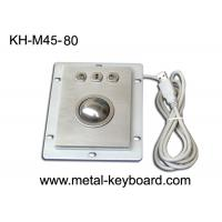 Buy cheap USB Port Industrial Trackball Pointing Device Dust Proof With 3 Mouse Buttons from wholesalers
