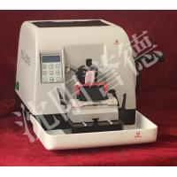 Buy cheap 60VA Pathology Rotary Microtome , Semi Automatic Microtome 60mm Vertical Specimen Stroke product
