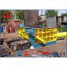 Buy cheap Heavy Duty Scrap Metal Baler 5-6Ton / Hour Car Bodies Baling Press 500x600mm Bale product