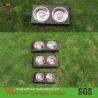 Buy cheap Hand-Woven  Patio PE Rattan Pet Feeder , Outdoor Cane Pet Bowl product
