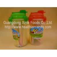 Buy cheap Personalized Fruit Flavor CC Hard Candy Sticks Sweets In Cup OEM Available product