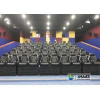 Buy cheap Exciting Simulating Luxury Cabin Box 5D Cinema System With Fiber Glass Material product