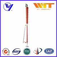 Buy cheap 110KV 10KA KEMA Transmission Line Surge Arrester with Leave Device product