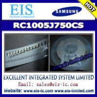Buy cheap RC1005J750CS - SAMSUNG - THICK-FILM CHIP RESISTOR - Email: sales009@eis-ic.com product