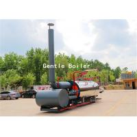 Buy cheap Durable Gas Diesel Oil Fired Steam Boiler Q245R Steel Plate Material product