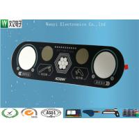 Buy cheap RoHs Push Button Membrane Switch 0.175mm Overlay Medical Device Sand Effect product