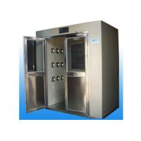 Buy cheap Powder Coated Steel Material Air Shower System Adjustable Wind Speed 25-30 M/S product