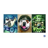 Buy cheap PET / PP Animal Print Lenticular Posters For Home Decoration SGS product
