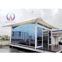 Buy cheap Prefab Glass Sunshine Hut For Luxury Tent Hotel , Permanent Tent House Glamping And RVs product
