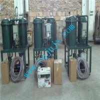 Quality Light Fuel Oil Purifier, Diesel Gaoline oil filtration plant With CE ISO for sale