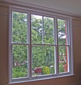 Buy cheap High Security Aluminium Double Glazed Sash Windows In Ventilation Control product