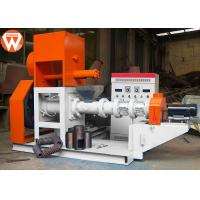 Buy cheap 300KG/H Floating Fish Feed Extruder Machine Main 37kw Low Power Consumption product