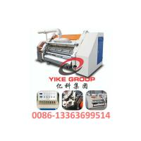 Buy cheap Single Faced Corrugated Carton Machine 1400-1800mm Width Hard Chrome Material product