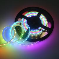 China Controllable Led Strip SK6812 IC DC5V Every Leds Individually Cuttable on sale