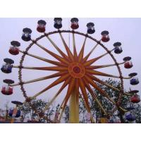 Buy cheap Flower Cabins Design Amusement Park Ferris Wheel Driven By Electric Control System product