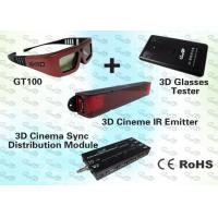 Buy cheap 3D Education Solution with 3D IR Emitter and 3D IR Glasses product