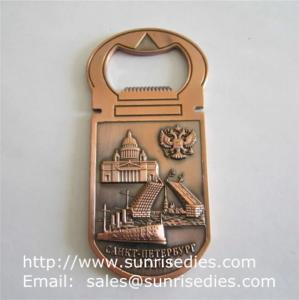 Buy cheap 3D designed metal beer bottle openers, personalised 3D metal bottle openers product