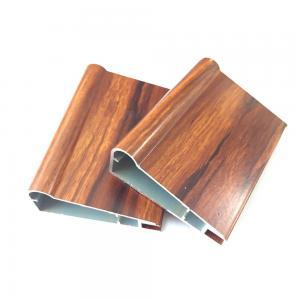 Buy cheap Modern Furniture Wood Grain Kitchen Cabinet T6 Door Aluminum Profile product