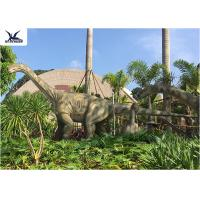 Buy cheap Realistic Full Size Dinosaur Lawn Statue Artificial Moving Dinosaur Statues On Lawn product