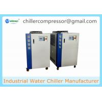 Buy cheap 5HP-20HP Scroll Type Air Cooled Water Chiller for Milk Cooling product