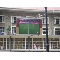 Quality 12 Sport Wall Mounted Outdoor Full Color Led Display ,Epistar + silan Chip IP65 for sale