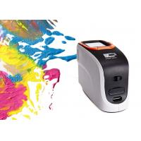 Buy cheap Textile Portable Color Spectrophotometer 0.01% Reflectivity Resolution with CE Certification product