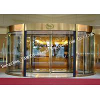 Buy cheap Modern Electrical Revoling Glass Facade Doors For Hotel Or Shopping Mall Lobby product