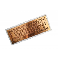 Buy cheap Bilingual 64 Key Military Level Metal Keyboard For Mining Oil from wholesalers
