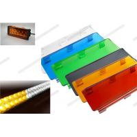 Quality 3 Inch / 6 Inch Automotive Lighting Accessories Colorful Outside Led Light Bar Cover for sale