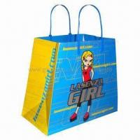 Buy cheap Eco-friendly Paper Bag for Promotions and Shopping, Made of Ivory Board Paper product
