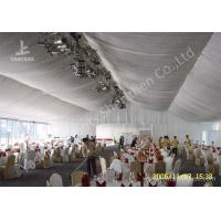 Quality 20m Width Outdoor Event Tents , Full Decorations Large Tents For Outdoor Events for sale