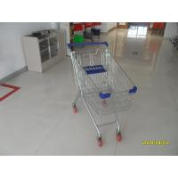 Buy cheap 100 L Europe Style Supermarket Grocery Shopping Cart With Four Swivel Casters from wholesalers