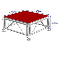 Buy cheap Customized Aluminum Stage Platform , Adjustable Stage Platform For Party product