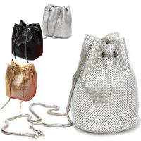 Buy cheap Prefer To Life Ladies Evening Bags Shiny Scale Clutch Purse for Party Prom from wholesalers
