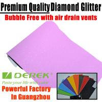 Buy cheap Brilliant Diamond Sanding Glitter Vinyl -- Sparkle Wrap Pink product