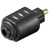 Buy cheap Digital Toslink Cable Adapter Fiber Optic Toslink To 3.5mm Mini Connector product