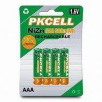 Buy cheap NiZn Rechargeable Battery with High-voltage and Drain Current, Environment from wholesalers