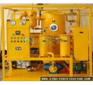 Low Noise Insulation Oil Purifier , 380V/3P/50Hz Dehydration Oil Purification Machine