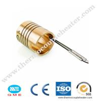 Quality Hot Runner Brass Tube Electric Coil Heaters with Thermocouple for sale