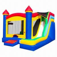 Buy cheap Inflatable Combo Bounce Jumping Castle House with Slide product