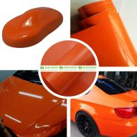 Buy cheap Glossy Car Wrapping Vinyl Films--Glossy Orange product