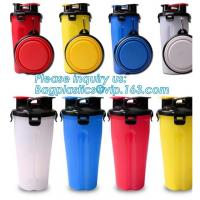 Buy cheap 2 in 1 Portable Dog Food Cup for Travel Dog Water Bottle with Bowl pet joyshaker water bottle cap dog water bottle, pac product