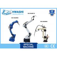 Buy cheap HWASHI Robotic arm Arc Industrial 6 Axis tig Welding Robot from wholesalers