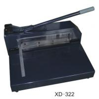 Buy cheap Manual Paper Cutting Machine , Electric Heavy Duty Paper Cutter  XD-322 product
