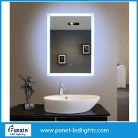 Buy cheap 5mm Hotel Small Vanity Frameless Backlit Mirror Anti Corrosion Protection FUSXIN from wholesalers