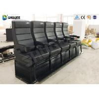 Buy cheap Environmental Motion Chair 4D Cinema Equipment With Metal Flat Screen product