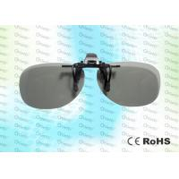 Buy cheap 0 . 720mm Anti - Scratch Circular Polarized Glasses For REALD 3D Cinema System product