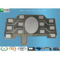 Buy cheap EMI Shield Flexible Capacitive Touch Keypad / Custom Printed Membrane Touch Panel product